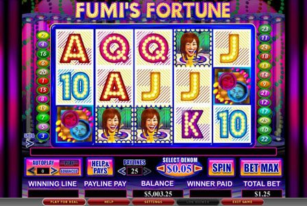 My Bet featuring the Video Slots Fumi's Fortune with a maximum payout of 1,000x