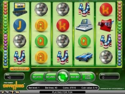 Play slots at Wild Wild Bet: Wild Wild Bet featuring the Video Slots Funky Seventies with a maximum payout of $2,500