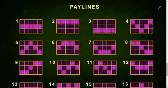Europlay featuring the Video Slots Gaelic Luck with a maximum payout of $200,000