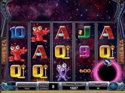 Lapalingo featuring the Video Slots Galacticons with a maximum payout of $15,000