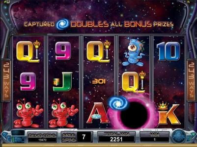 Crazy vegas featuring the Video Slots Galacticons with a maximum payout of $15,000