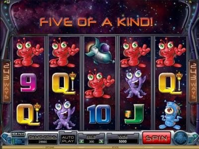 Players Palace featuring the Video Slots Galacticons with a maximum payout of $15,000