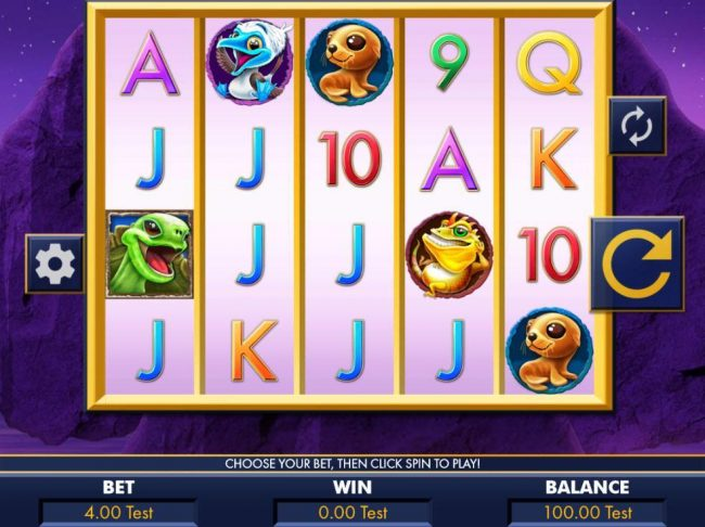 EypoBet featuring the Video Slots Galapagos Islands with a maximum payout of $3,200