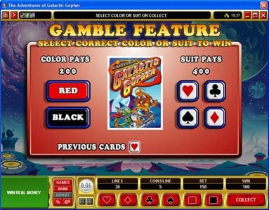 Play slots at Slots Cafe: Slots Cafe featuring the Video Slots Galatic Gopher with a maximum payout of $37,500