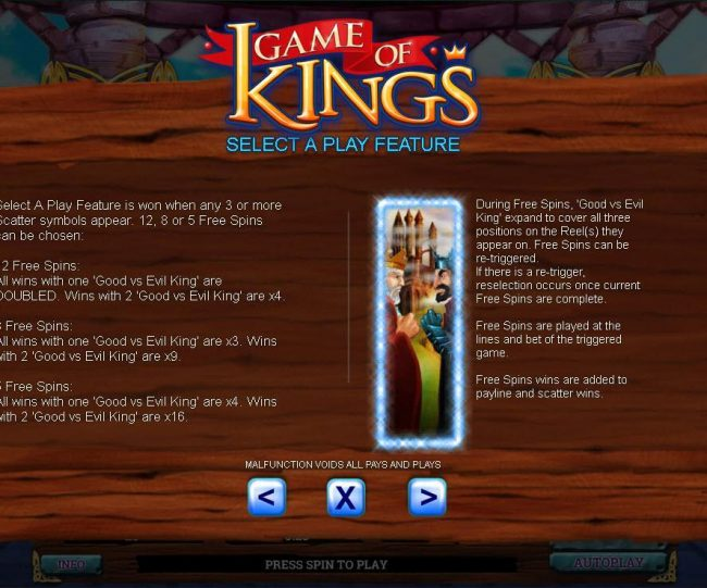 Drake featuring the Video Slots Game of Kings with a maximum payout of $80,000