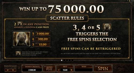 Scatter Rules