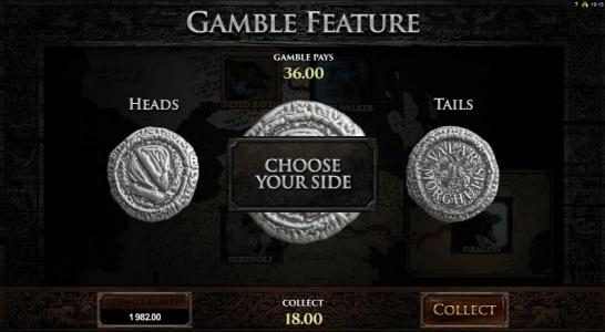 First Web featuring the Video Slots Game of Thrones - 243 Ways with a maximum payout of $121,000