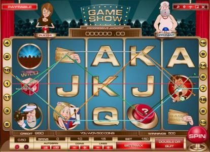 Joe Fortune featuring the Video Slots Game Show with a maximum payout of Jackpot