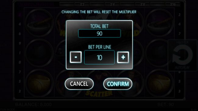X-Bet featuring the Video Slots Gangster's Slot with a maximum payout of $40,000