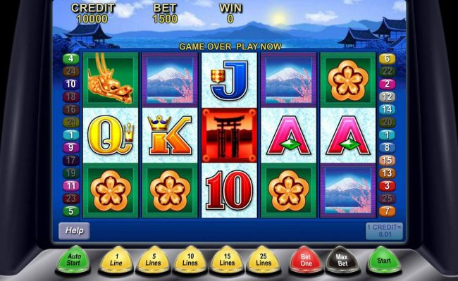 Play slots at Luckland: Luckland featuring the Video Slots Geisha with a maximum payout of $800