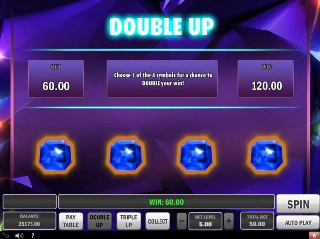 Casiplay featuring the Video Slots Gem Drop with a maximum payout of $150,000