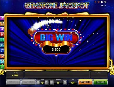 Gemstone Jackpot :: Big Win 3600 coins