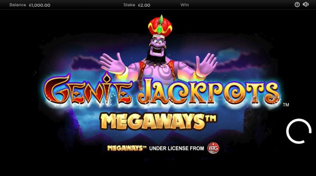 Play slots at NetBet: NetBet featuring the Video Slots Genie Jackpots Megaways with a maximum payout of $250,000