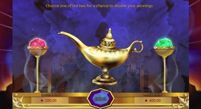 14 Red Casino featuring the Video Slots Genie Wishes with a maximum payout of $150,000