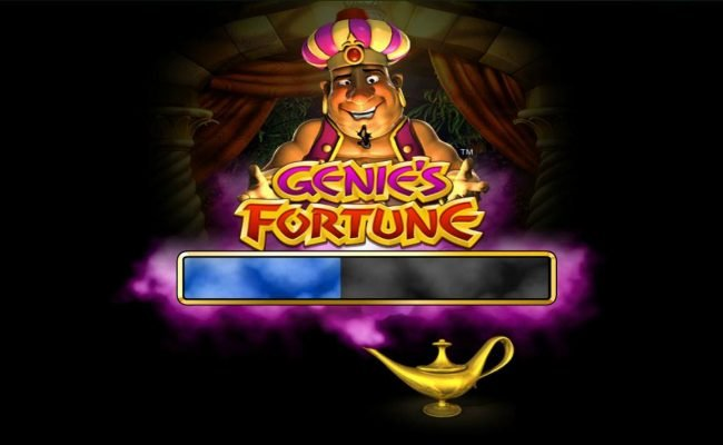 123 Vegas Win featuring the Video Slots Genie's Fortune with a maximum payout of $75,000