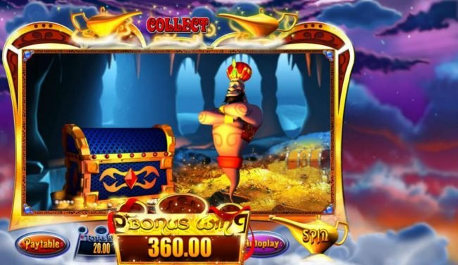 Moon Games featuring the Video Slots Genie Jackpots with a maximum payout of Jackpot