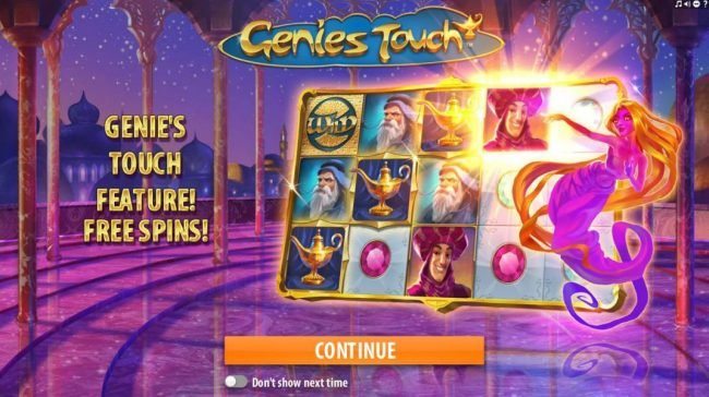 Play slots at Rose Slots: Rose Slots featuring the Video Slots Genie's Touch with a maximum payout of $1,250