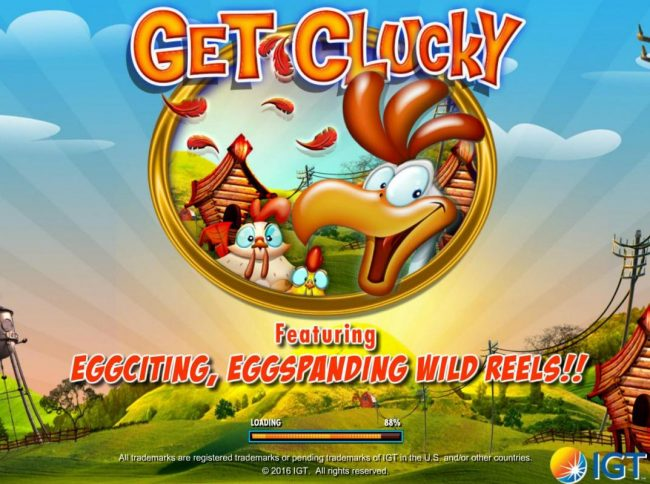 Slots Angel featuring the Video Slots Get Clucky with a maximum payout of $250,000