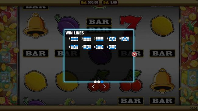 Mobireels featuring the Video Slots Get Fruity with a maximum payout of $22,500