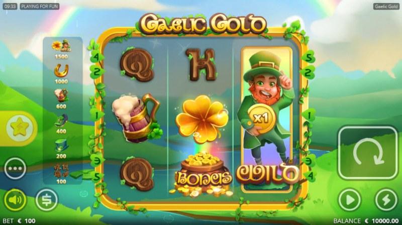 Gaelic Gold :: Main Game Board