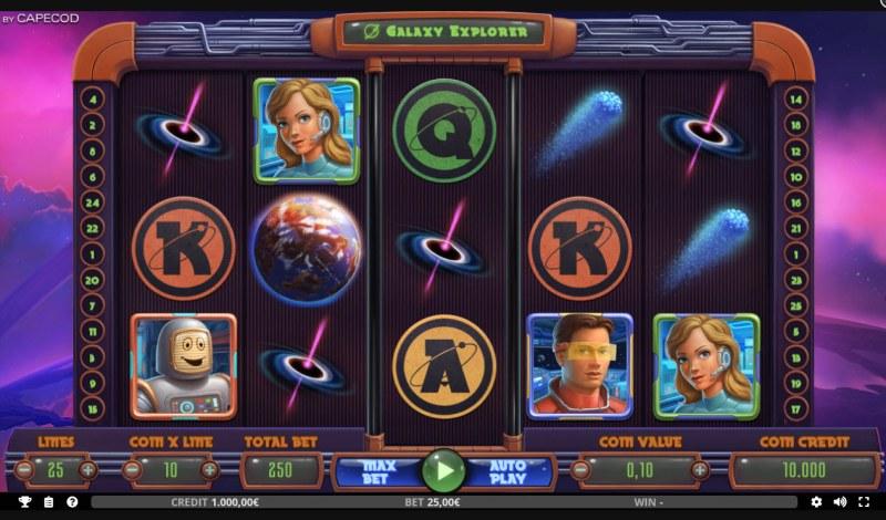Galaxy Explorer :: Main Game Board