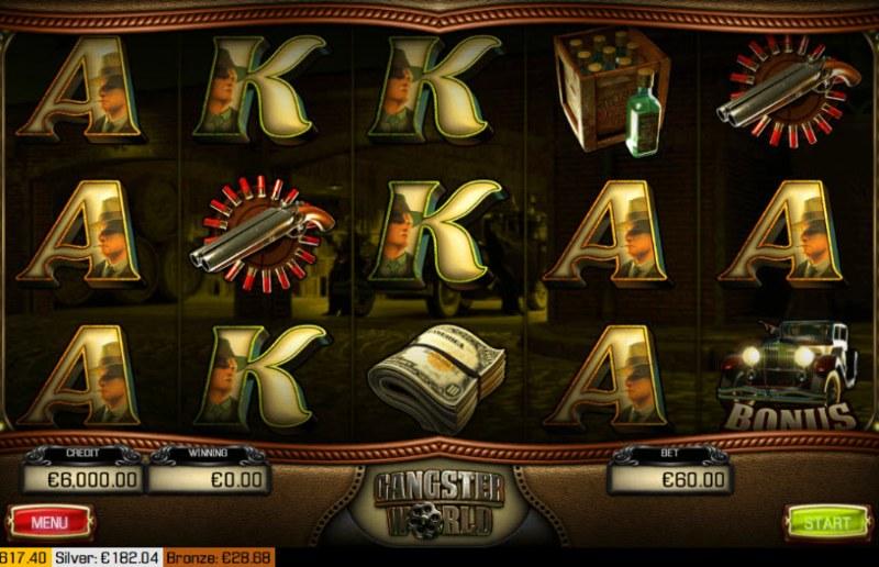 Gangster World :: Main Game Board