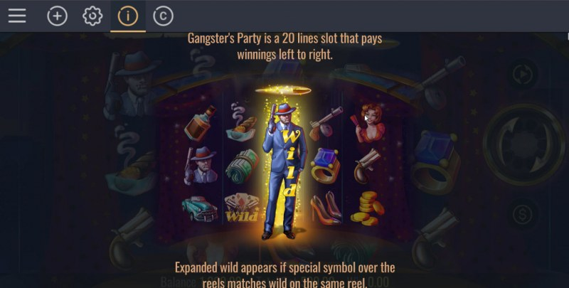 Gangster's Party :: Wild Symbol Rules