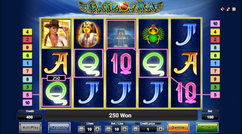 Gate of Ra :: Four of a kind Win