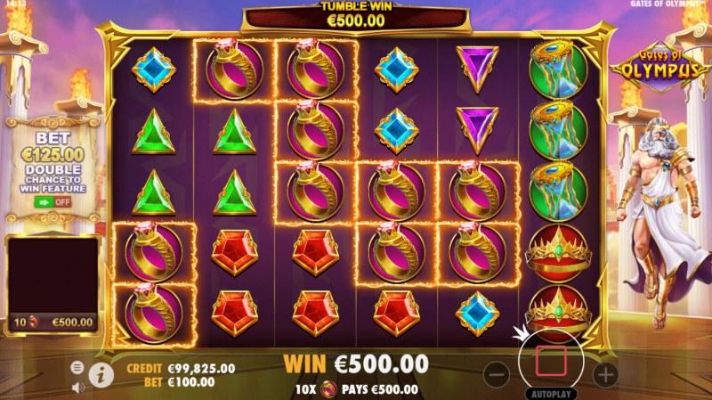 Gates of Olympus :: Multiple winning combinations