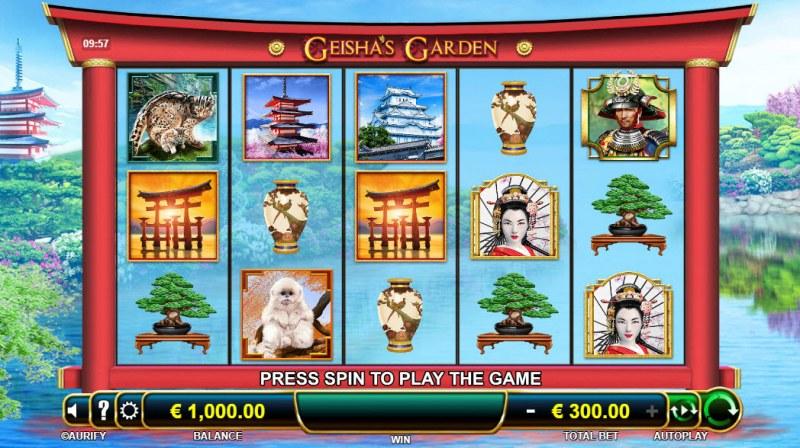 Geisha's Garden :: Main Game Board