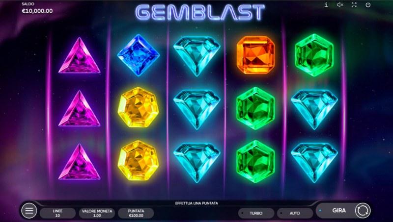 Gem Blast :: Base Game Screen