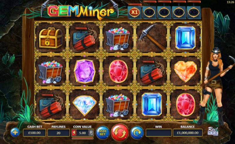Gem Miner :: Main Game Board