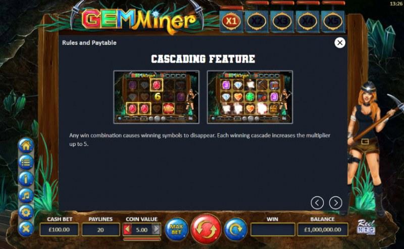 Gem Miner :: Cascades Feature