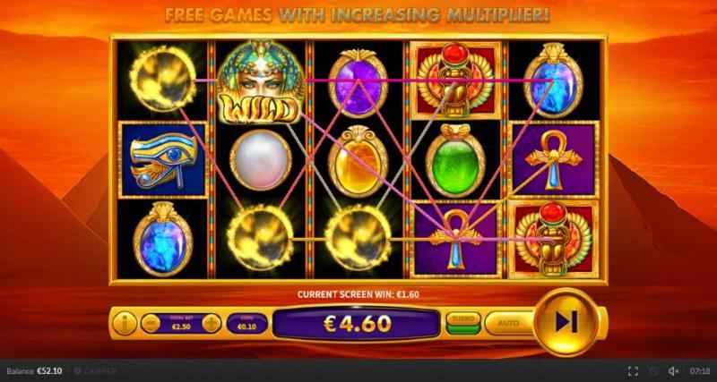 Gem Queen :: Multiple winning paylines