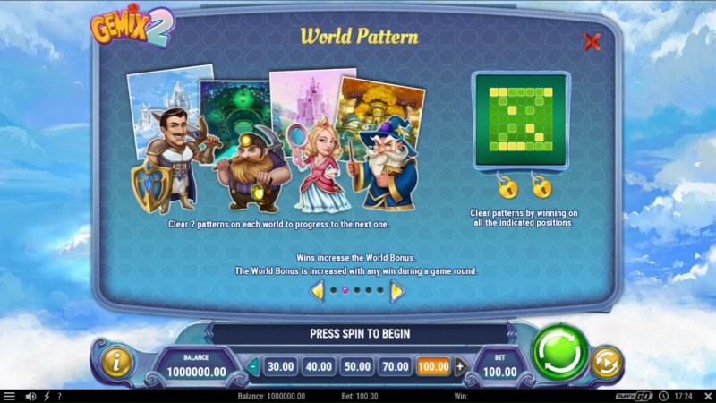 Gemix 2 :: World Pattern