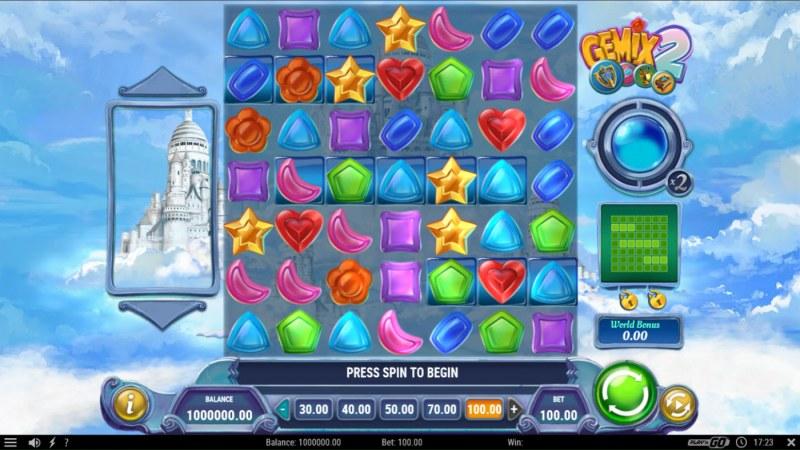 Gemix 2 :: Main Game Board