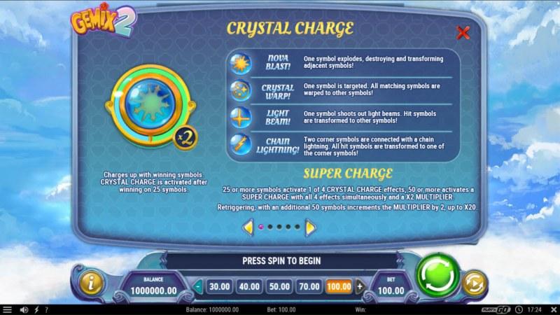 Gemix 2 :: Crystal Charge