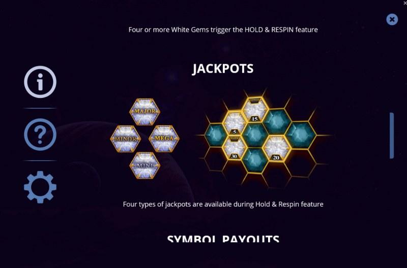 Gems & Riches :: Jackpots