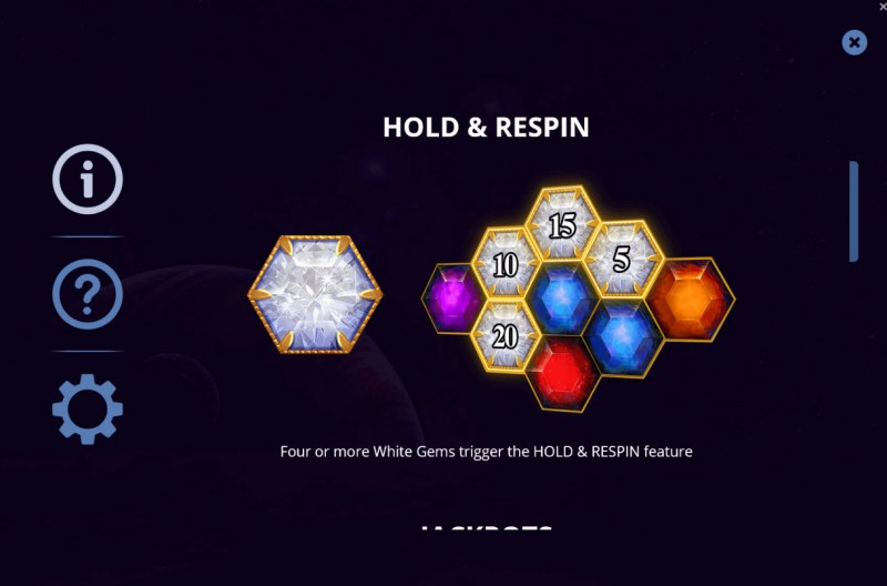 Gems & Riches :: Hold and Respin