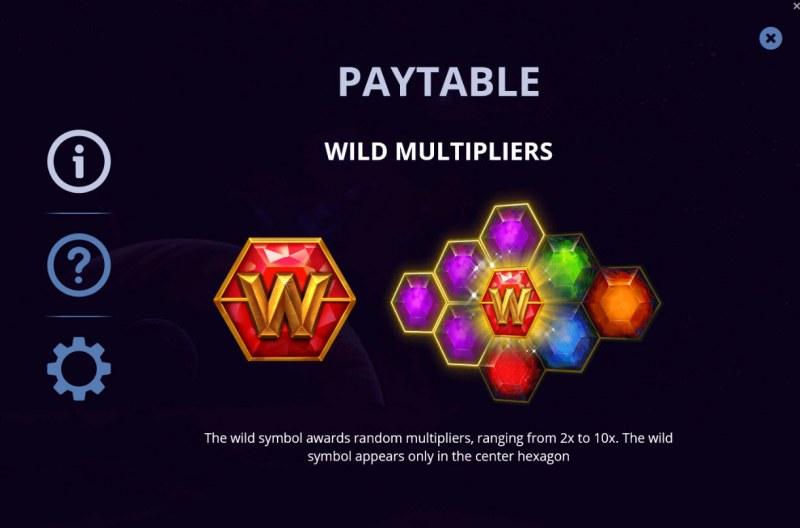 Gems & Riches :: Wild Symbols Rules