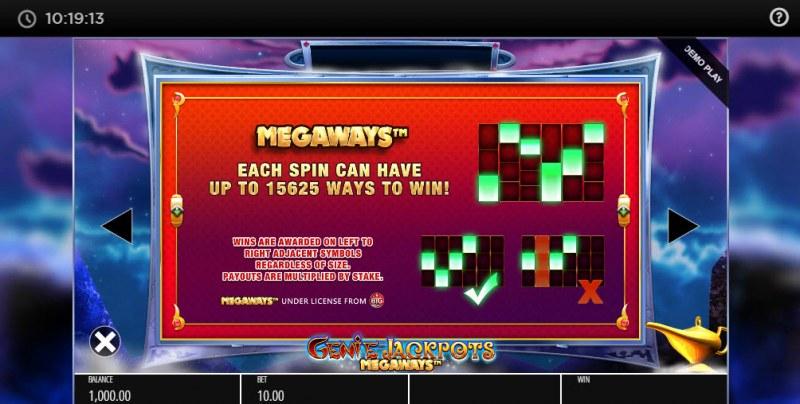 Genie Jackpots Megaways :: Megaways