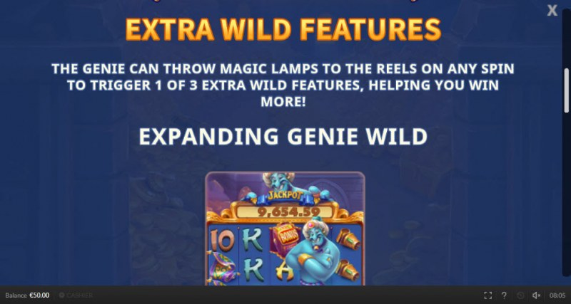 Genie Mega Reels :: Extra Wild Features