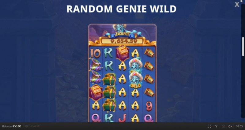 Genie Mega Reels :: Random Genie Wild