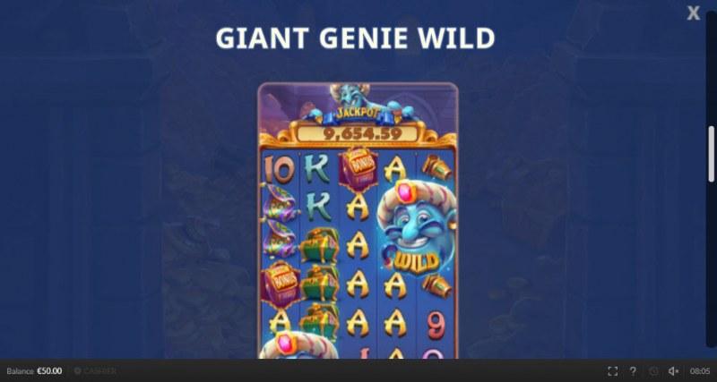 Genie Mega Reels :: Giant Genie Wild
