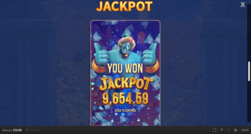 Genie Mega Reels :: Jackpot