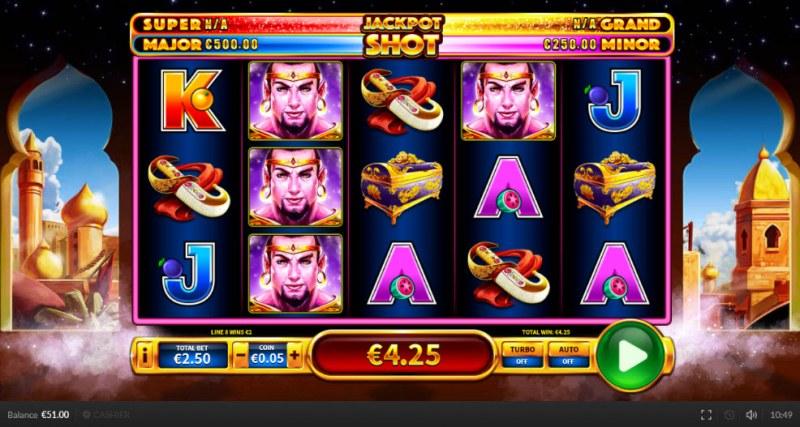 Genie Shot :: Multiple winning paylines
