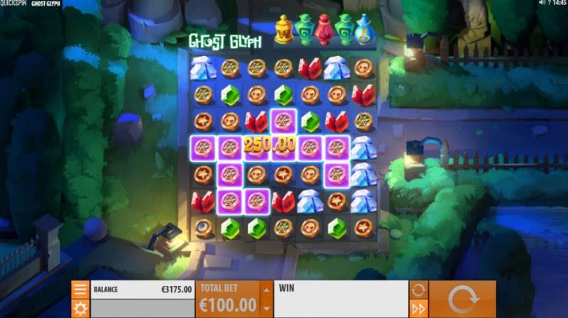 Ghost Glyph :: Multiple winning combinations