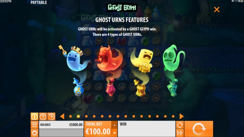 Ghost Glyph :: Ghost Urns Feature