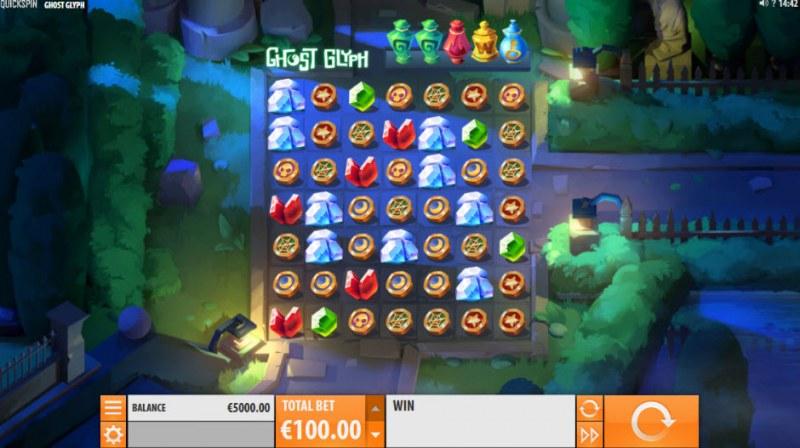 Ghost Glyph :: Main Game Board
