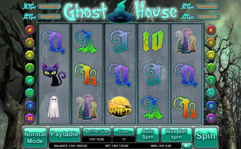 Ghost House :: Main Game Board